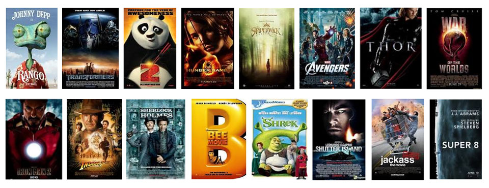 OVER 1000 MOVIE TRAILERS MIXED FOR AUSTRALIAN TV